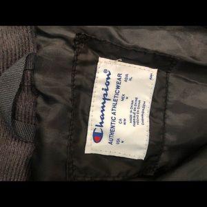 Champion Gray Jacket size M